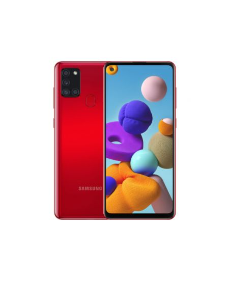 Samsung Galaxy A21s 3/32GB Red (красный)