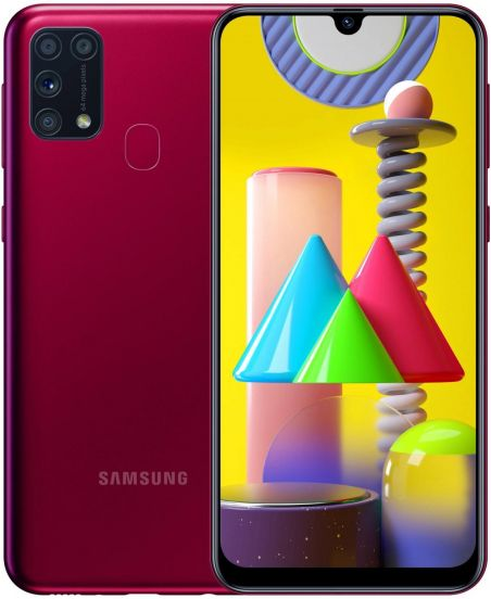 Samsung Galaxy M31 4/128GB Red (красный)